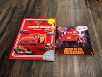 Brand New Cars activity book and Mater flip book Ottawa, K2S 1P6