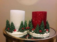 BEAUTIFUL CANDLE DECOR/W GLITTERY CANDLES Anaheim, 92804
