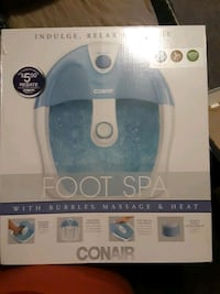 Conair indulge and relax footspa 289 mi