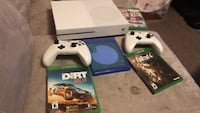 Xbox one console with 2controller and 3game cases Calgary, T3C 1T3