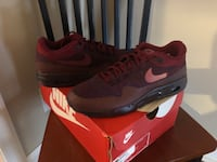 NEW NIKE AIR MAX 1 FLYKNIT MENS 9.5 RED Essex, 21221