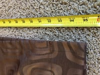 Pair of curtains (8ft height) Golden Valley