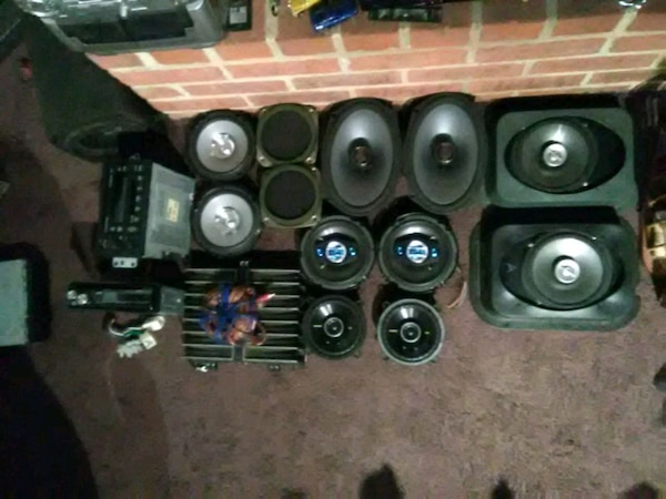Speakers, HU's and and amp