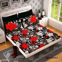 white and black floral area rug Mumbai, 400065
