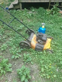 yellow and black push mower Berryville, 72616