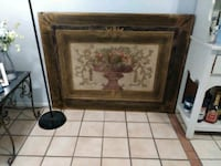 brown and red floral wooden frame Lake Worth, 33463