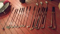 2 sets of clubs 1 left hand, 1 right hand