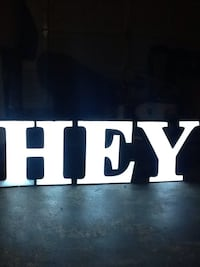 LED sign letters Sacramento, 95828