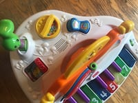white, yellow, and red Fisher-Price musical piano toy Kitchener, N2M 4R9