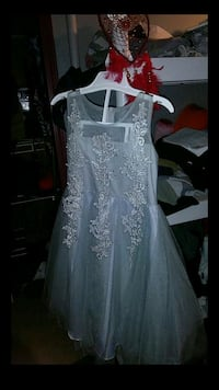 Trish Scilly Silver Dress