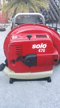 Solo 470 commercial backpack leaf blower