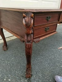 Wooden hand carved horse head table Lanham, 20706