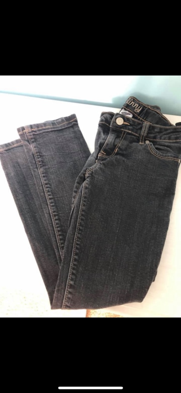 Lot of little girls jeans size 8- justice, old navy, target, Cherokee  1fe74aa9-c2a1-464e-8285-8c75364f7c5c