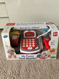 white and red Vtech learning toy Calgary, T3E