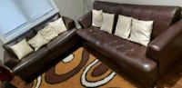 black and white leather sofa Saskatoon, S7L