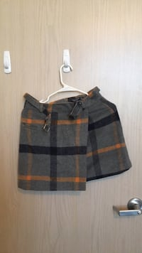 black and gray plaid skirt Ann Arbor, 48104