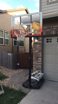 white and black basketball hoop Thornton, 80602