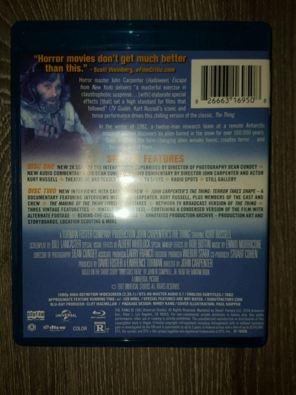 The Thing (blu-ray) 2K Restoration From Scream Factory 9d2d0f82-360e-487e-9f8b-5138d60ae408