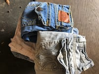 Lot of True Religion and designer jeans- 11 pairs Houston