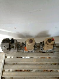 Gas valve for gas heater used