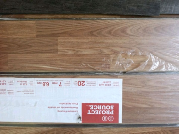 2 Boxes of Laminate Flooring $20