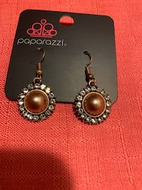 Copper dangle earrings  Gaithersburg, 20877