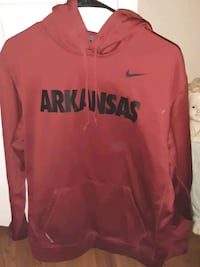 Arkansas Razorback hoodie Nike size large  Little Rock, 72103