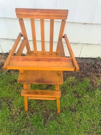 Antique Real Wood Baby Doll High Chair Norfolk, 23513