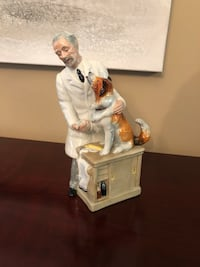 "New Royal Doulton Figurine ""Thanks Doc"" Vaughan, L4H"