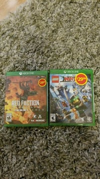 XBOX ONE-sealed $10 each Mississauga, L5C 3S8