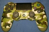 yellow and black camouflage Sony PS4 controller Houston, 77092
