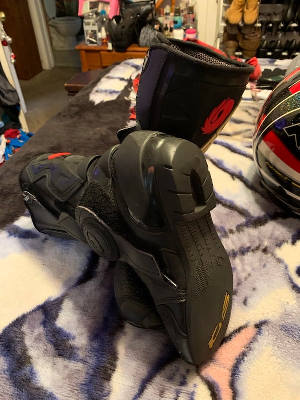 Motorcycle Boots dc6ac930-be55-4451-90a3-95d9ed7fa1aa