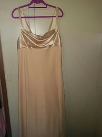 Nude gown plus size