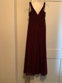 Bill Levkoff Royal Purple gown dress Washington