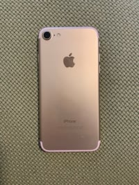Rose gold iphone 7, 128GB, Verizon PICK UP ONLY Fairfax, 22030