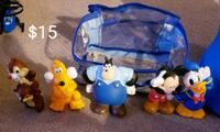 Mickey Mouse and Friends Bath toys - $15 Toronto, M9B 6C4