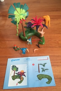 Playmobil Super 4 Lost Island with Alien and Raptor Building Kit  Herndon, 20171