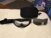 Wxt Goggles with interchangeable Dark Lens with Case