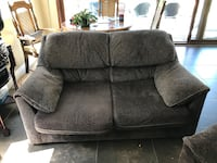 gray fabric 2-seat sofa North Vancouver, V7N 1V7
