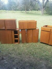 brown wooden cabinet and drawer Smithville, 31787