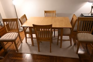 Dining Table - 7 Piece Set