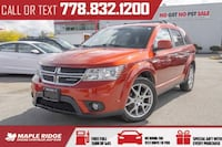 2012 Dodge Journey R/T - Fully loaded!