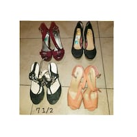 Size 7 1/2 $12 any pair Donna, 78537