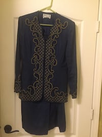 Beaded evening suit - Size 6 - only worn once. Miami, 33196