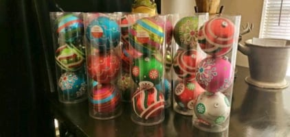 Ornaments 8 boxs all for $50 or each $8.