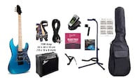 Electric Guitar Package with 15W amp and accessories Toronto