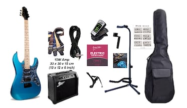Electric Guitar Package with 15W amp and accessories