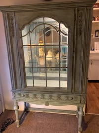 Shabby Chic China Cabinet Display Hutch Santa Barbara, 93101