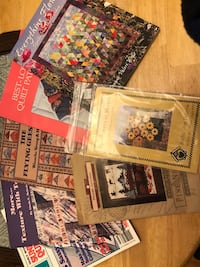 Quilting books and two patterns for quilts  Anchorage, 99515
