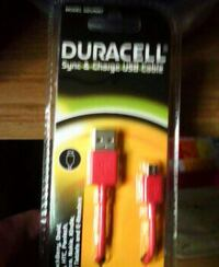 Duracell sync & charge usb cable!!!